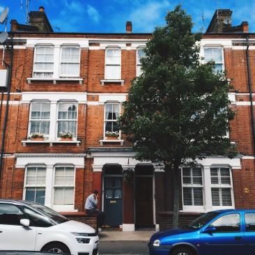 Photographic Kennington housing in London
