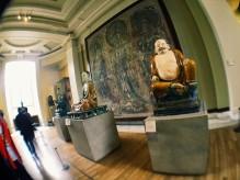 Buddhas at the China exhibit at the British Museum