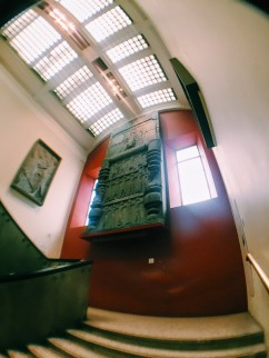 British Museum stairs