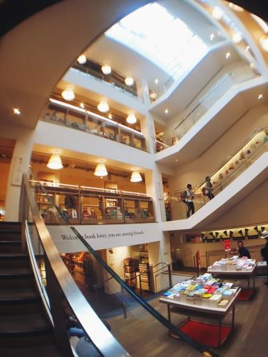 Foyles bookstore London