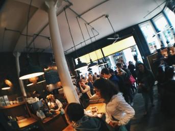 Monmouth Coffee, Borough Market London