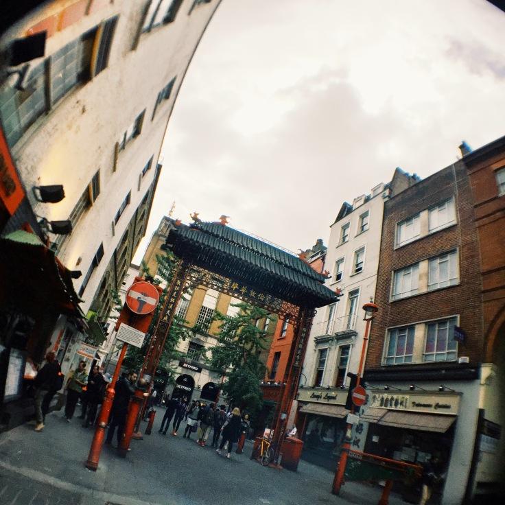 Chinatown gate London