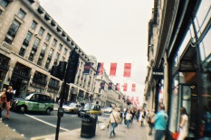 Magnum ads dominating Strand in London