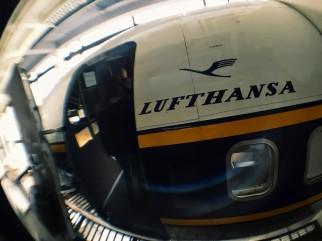 Lufthansa model at the Deutsches Museum