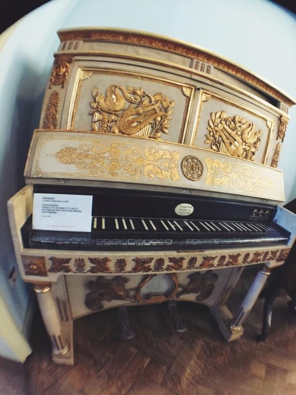 Beautiful piano at Deutsches Museum