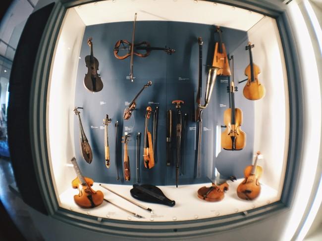 Violins at the Deutsches Museum