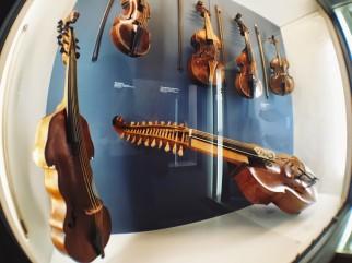 Music exhibit at the Deutsches Museum