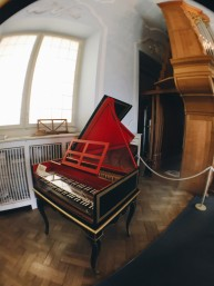 Classy piano at the Deutsches Museum