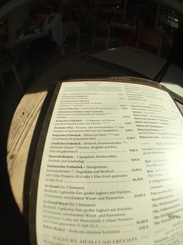 Cotidiano menu