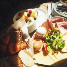 Le Grand breakfast for two at Cotidiano in Munich