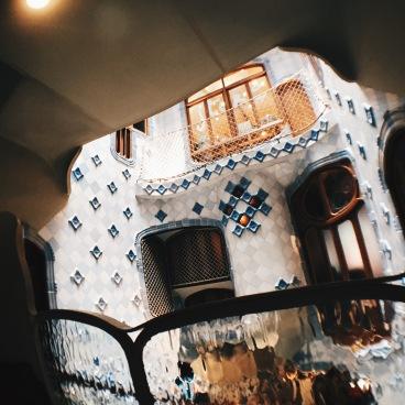 Inside Gaudi's Casa Battlo
