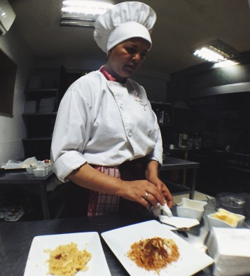 Moroccan pastry baking class at Riad Monceau