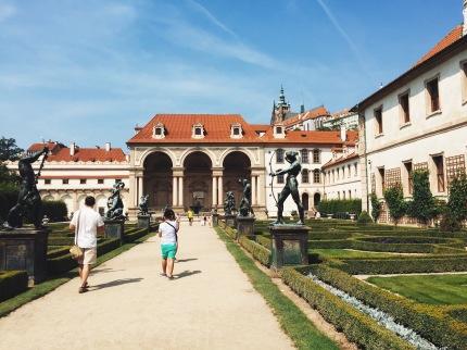 Wallenstein Garden, Prague
