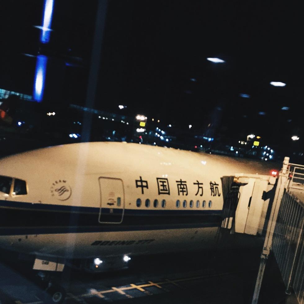 China Southern Boeing 777 plane at JFK