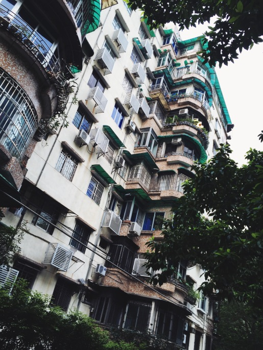 My apartment building in Guangzhou