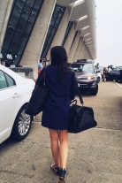 Dulles Airport departures