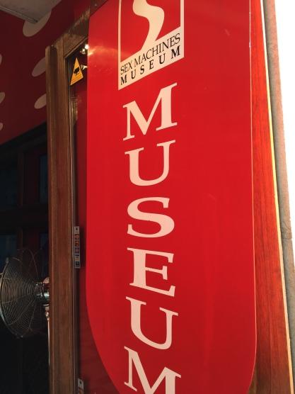 Sex Machines Museum in Prague