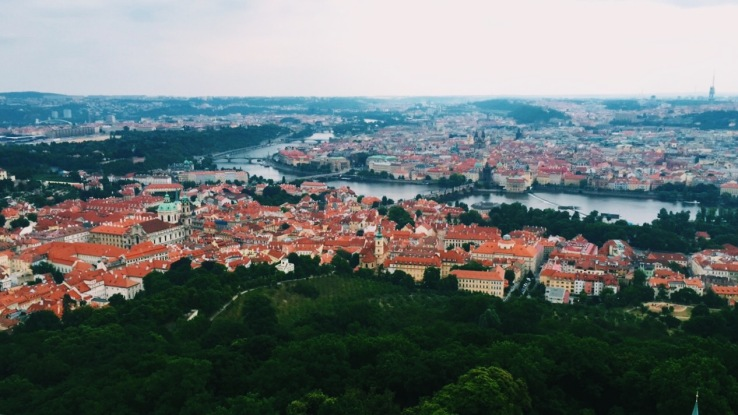 View from Petrin Tower