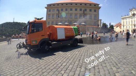 Prague Castle area