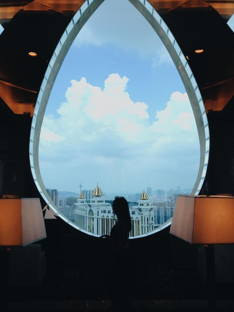 51st floor lobby at the Ritz-Carlton, Macau