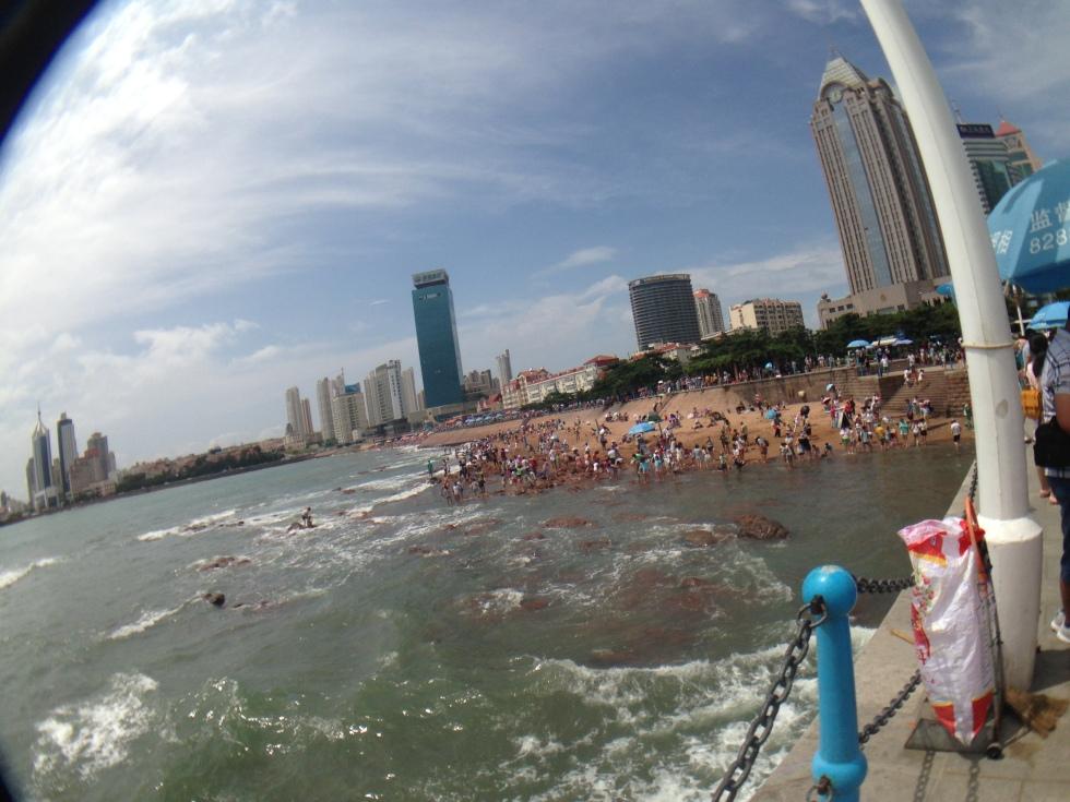 Qingdao beach