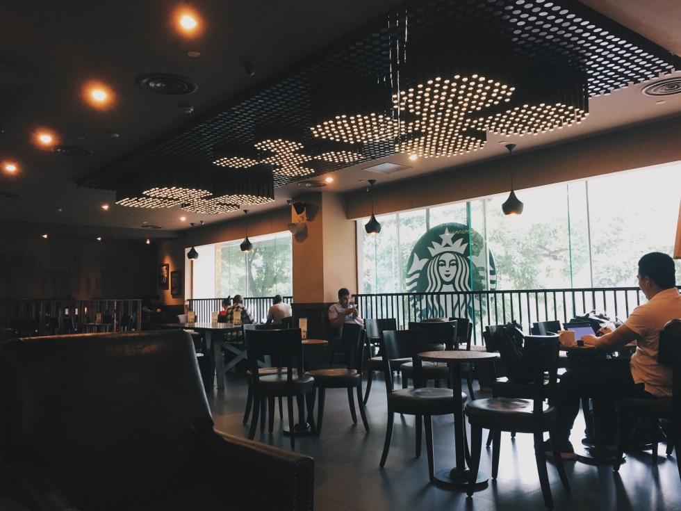 Starbucks in Guangzhou
