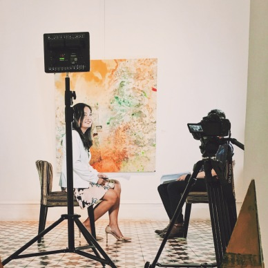 """GDTV World's """"Face Time"""" at Kui Yuan Gallery"""