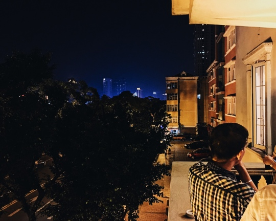 View from Wisca Restaurant Guangzhou