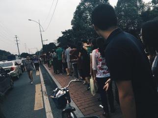 Line for Haizhu Wetland Park