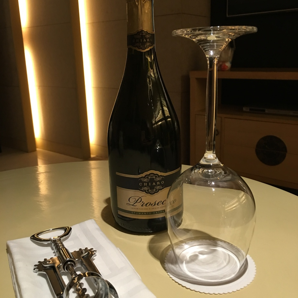Free bottle of Prosecco from Garden Hotel