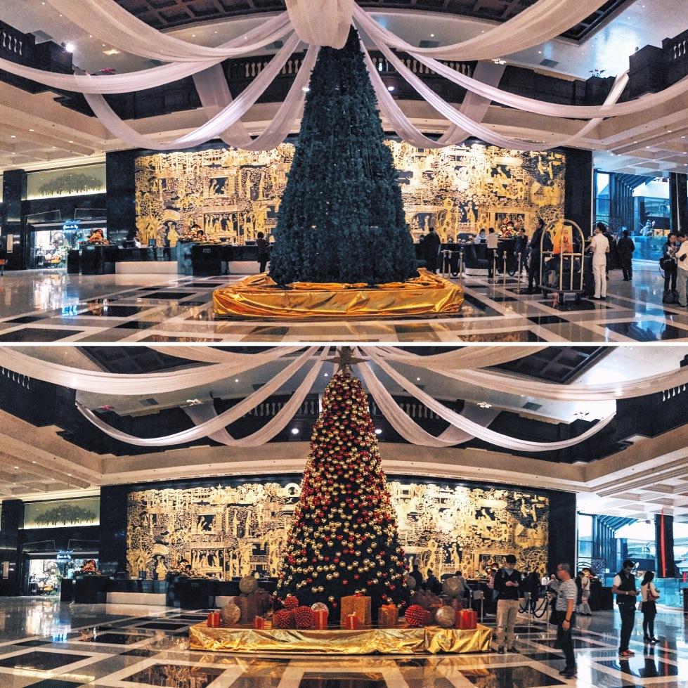 Garden Hotel Christmas tree 2015
