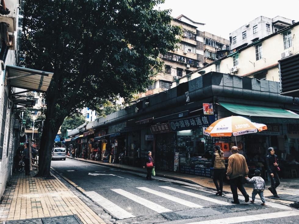 Streets of Guangzhou