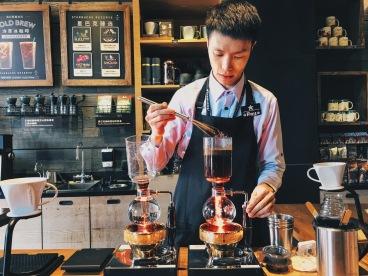 Starbucks Kecun Reserve coffee