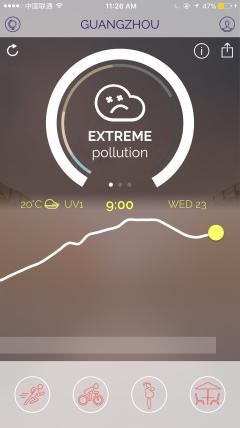Plume Air Report app screenshot