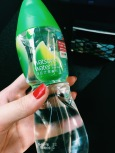 Free Watsons water on train to HK