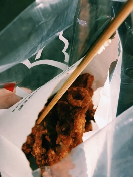 Famous Taipei fried chicken