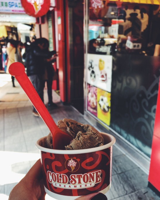 Tieguanyin Coldstone ice cream