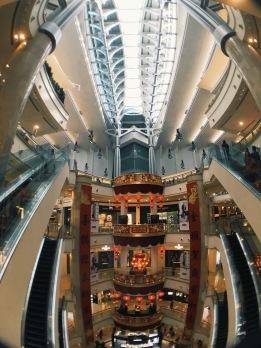 Chinese New Year 2016 at Taipei 101 mall