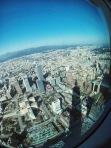 Taipei 101 shadow