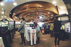 Writing section of Eslite Bookstore Taipei
