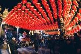 Temple at Shilin Night Market Taipei, Taiwan