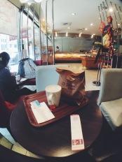 First breakfast in Taipei