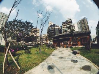 Nishi Honganji Square (Western Temple of the Original Vow) Taipei