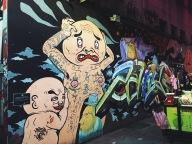 Graffiti at Ximending Taipei