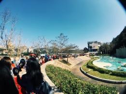 Line for Maokong gondola