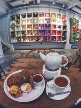 Smith & Hsu Taipei lunch set with scone