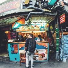 Gongguan street food, Taipei