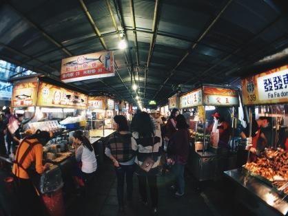 Ningxia Night Market, Taipei