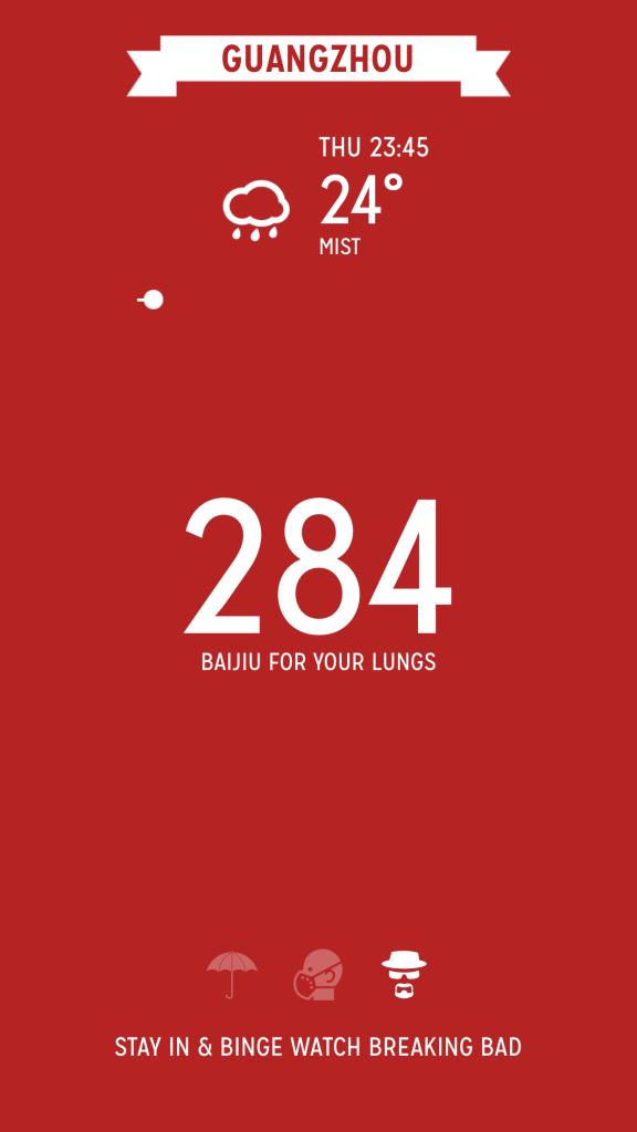 Airpocalypse pollution app