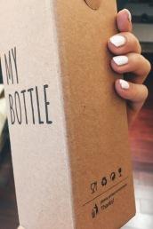 Cute blk water bottle packaging